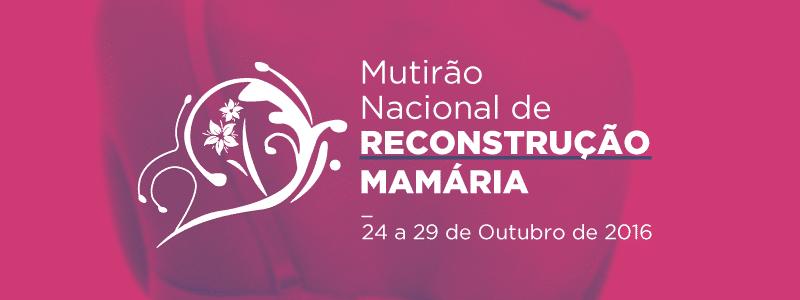 II Mutirão Nacional de Reconstrução Mamária